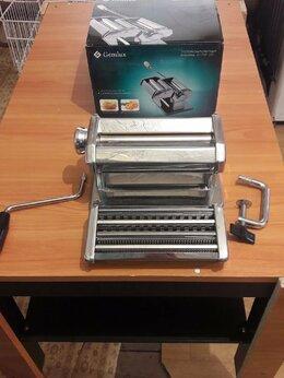 Пельменницы, машинки для пасты и равиоли - Тестораскатывающая машина Gemlux GL-PMF-180, 0
