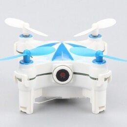 Квадрокоптеры - Р/У квадрокоптер Cheerson CX-OF-TX Mini, Wi-Fi, Optical Flow, RTF 2.4G (синий), 0