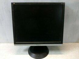 Мониторы - Монитор с дефектом ЖК 19'' 5:4 ViewSonic VA916 чер, 0