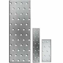 Перфорированный крепеж - Пластины соединительные строительные, перфорация, 0