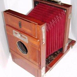 Пленочные фотоаппараты - Reise-Camera Meteor Emil Wnsche's 13x18 1900 г.…, 0
