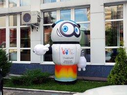 Рекламные конструкции и материалы - Надувной робот с машущей рукой, 0