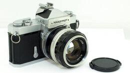 Пленочные фотоаппараты - Фотоаппарат Nikon Nikkormat FT с объективом…, 0