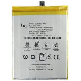 Батарейки - BQ Аккумулятор BQ Aquaris U Plus 3080 mAh, 0