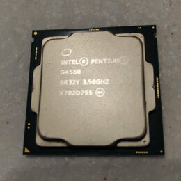 Процессоры (CPU) - Процессор LGA1151 Intel Pentium G4560 SR32Y 3.50GH, 0
