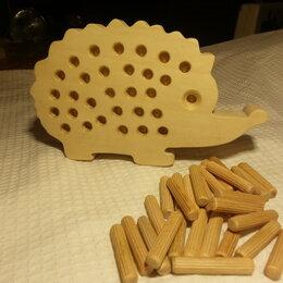Развивающие игрушки - Деревянный ёжик, 0