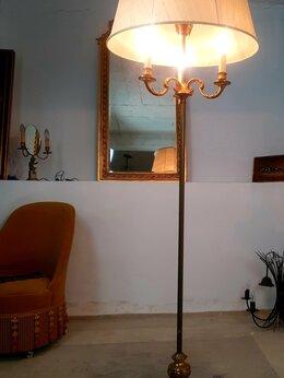 Торшеры и напольные светильники - Торшер Франция бронза Ампир, 0