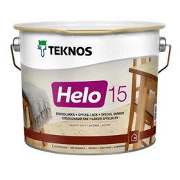 Лаки - Лак полиуретановый TEKNOS Хело 15 Матовый 9л., 0