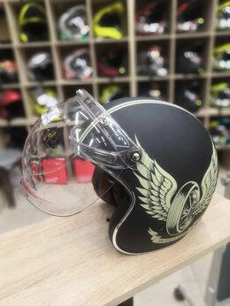 Мотоэкипировка - Визор Бабл на шлем , 0
