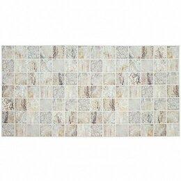 Мозаика - Панель ПВХ Мозаика - Мрамор венецианский 95,5х48 см, 0