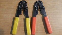 Клещи и бокорезы - Клещи обжимные телефонные RJ 11 и RJ 12, 0