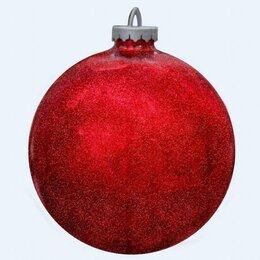 Новогодний декор и аксессуары - Шар красный елочный 300 мм, 0