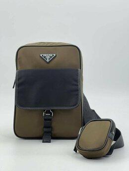 Рюкзаки - Рюкзак - сумка через плечо Prada нейлон, 0