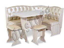 Мебель для кухни - Кухонный уголок со столом и табуретами с…, 0
