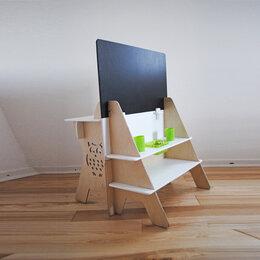 """Рисование - Столик для творчества двухстроронний с меловой доской """"Совенок"""", 0"""