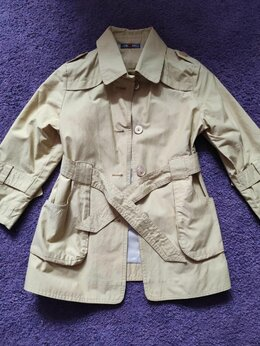 Пальто и плащи - Тренч - плащ детский 6-8 лет, 0