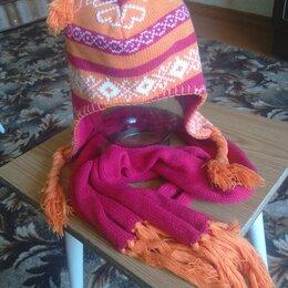 Головные уборы - Шапка с шарфом, 0
