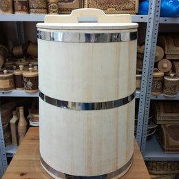 Бочки и купели - Бочка деревянная для воды 100 литров. Бочка для бани, 0