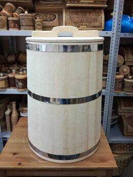 Бочки и купели - Бочка деревянная для воды 100 литров. Бочка для…, 0