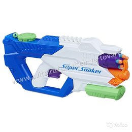 Игрушечное оружие и бластеры - Бластер Нерф (Nerf) сокер Водострел Оригинал, 0