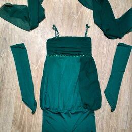 Платья и сарафаны - Праздничное платье с перчатками и шарфом, 0