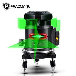 Измерительные инструменты и приборы - Лазерный уровень Pracmanu 360, 0