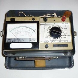 Измерительные инструменты и приборы - Мультиметр Ц4353 в металлическом чемоданчике, 0