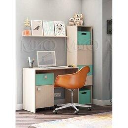 Компьютерные и письменные столы - Детская рабочая зона Юниор-1, 0