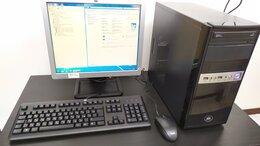 Настольные компьютеры - Комплект 4 ядра Intel Core i3/320GB/4GB/350W, 0