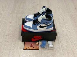 Кроссовки и кеды - Кроссовки Nike Air Jordan 1 Retro Blue , 0