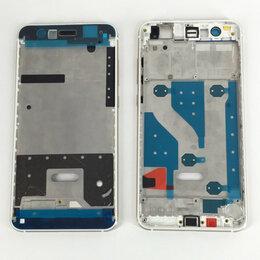 Корпусные детали - Средняя часть корпуса для Huawei P10 Lite белая, 0