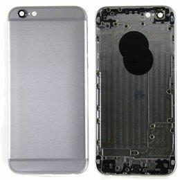 Корпусные детали - Корпус iPhone 6S серый, 0