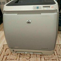 Принтеры, сканеры и МФУ -  Требует ремонта и заправки Цветной принтер лазерный HP Laser Jet 2605, 0