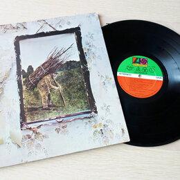 Виниловые пластинки - Led Zeppelin - Untitled (4) 1971 Orig. US Lp - Пластинка, 0