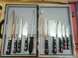 Наборы ножей - Набор ножей в кейсе 10 предметов Solingen, 0