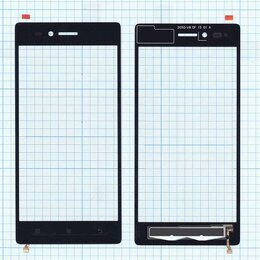 Дисплеи и тачскрины - Сенсорное стекло (тачскрин) для Lenovo Vibe Shot…, 0