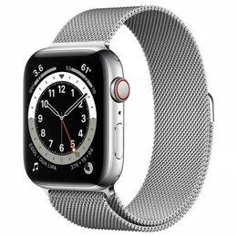 Умные часы и браслеты - Apple Watch Series 6 44mm GPS+Cellular Silver…, 0
