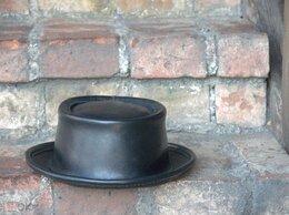 Головные уборы - Кожаная шляпа Pork Pie Hat (размер 60), 0