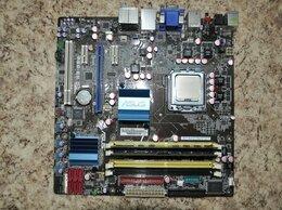 Материнские платы - Материнская платы ASUS P5Q-EM DO + процессор +…, 0