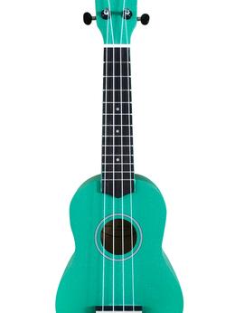 Укулеле - VESTON KUS 15GR Укулеле сопрано, зеленая, 0