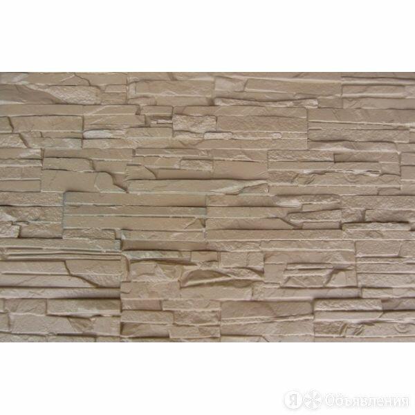 Фасадные панели Пласт плоский Бежевый по цене 320₽ - Фасадные панели, фото 0