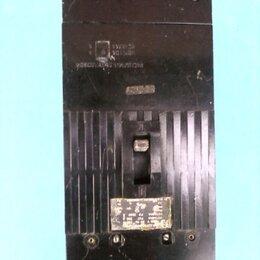 Пускатели, контакторы и аксессуары - Автоматический выключатель  А-3726 250 А ФУЗ (расцепитель тепловой), 0