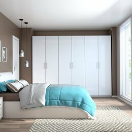 Кровати - Спальня Кэт 6 ЛДСП набор 4, 0