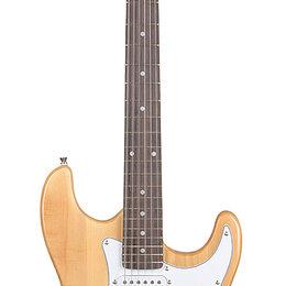 Электрогитары и бас-гитары - Fabio ST100 N Электрогитара, 6 струн, S/S/S, цвет натуральный, 0