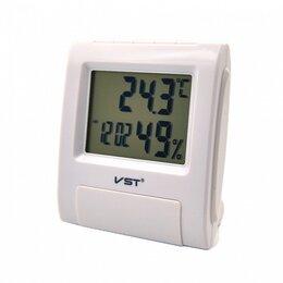 Метеостанции, термометры, барометры - Часы будильник 7090S БЕЛЫЕ (температура,…, 0
