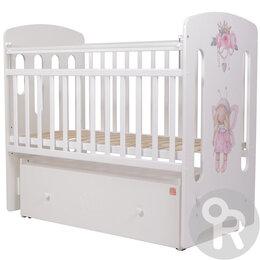 Кроватки - Кровать детская Принцесса Фей. /Новая/., 0