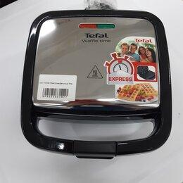 Сэндвичницы и приборы для выпечки - Вафельница Tefal WD170D38, 0