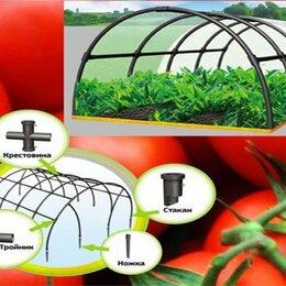 Парники и дуги - Парник большой пластиковый ПА 7 секций складной дачный для овощей, 0