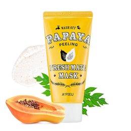 Очищение и снятие макияжа - Очищающая маска-пилинг с экстрактом папайи A'PIEU Fresh Mate Papaya Mask Pee..., 0