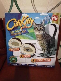 Туалеты и аксессуары  - Устройство для приучения кошек к унитазу , 0